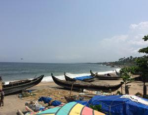 Kovalam Beach, Trivandrum ... one of many beaches along the Kerala coastline