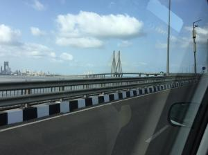 A sign of modern India ... the Rajiv Gandhi Sea Link