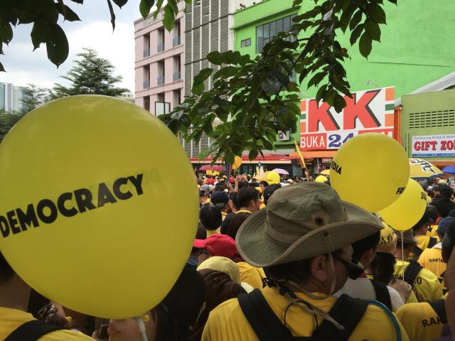 Bersih4 at Central Market KL