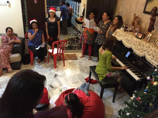 Christmas at Priya's2015